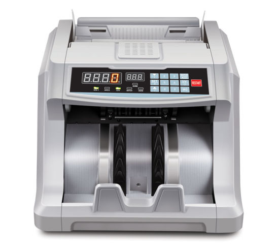 Factory Most Local Currency Vertical Type Money Detector Bill Counter