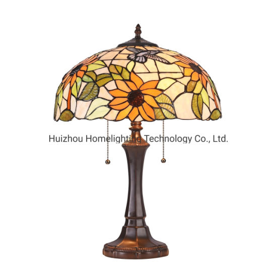 Jlt-1622 Stained Glass Tiffany Table Lamp