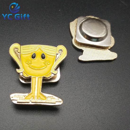 OEM Factory Price Customized Metal Soft Enamel Lapel Pin (BG-47-A)