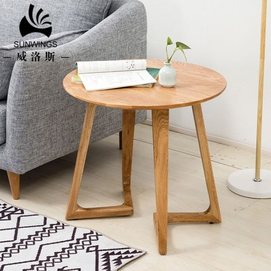 China Classic Design Modern Solid Wood, Side Tables For Living Room