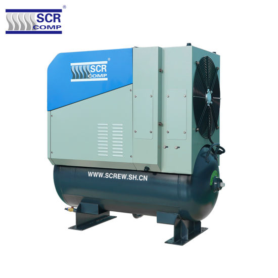 2019 New Design Japanese Technology SCR20pm2 Permanent Magnet Screw Type Air Compressor Rotary Industrial Compressor Energy Saving VSD Compressor