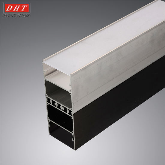 Custom LED Linear Light Aluminum Extrusion Profile Manufacturer pictures & photos