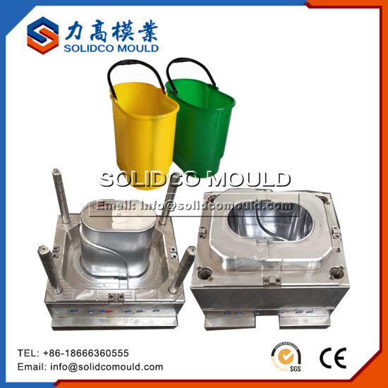 Verified Factory Supplier New Products Plastic Dustbin Trash Can Mould