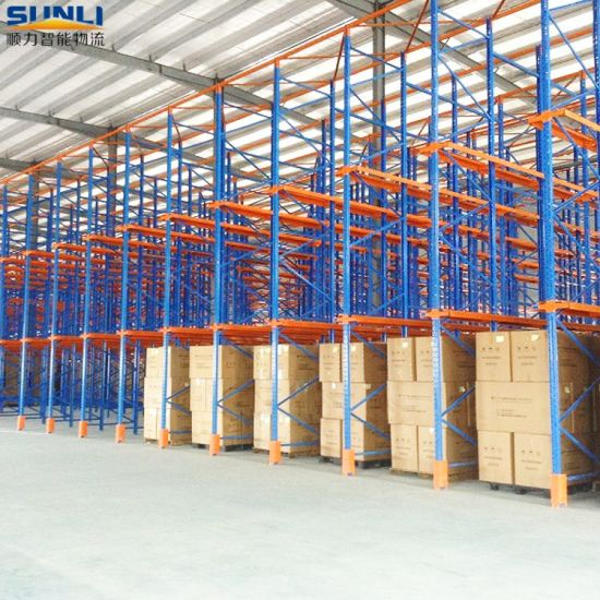 2t Warehouse Drive-in Storage Rack for Euro Pallet