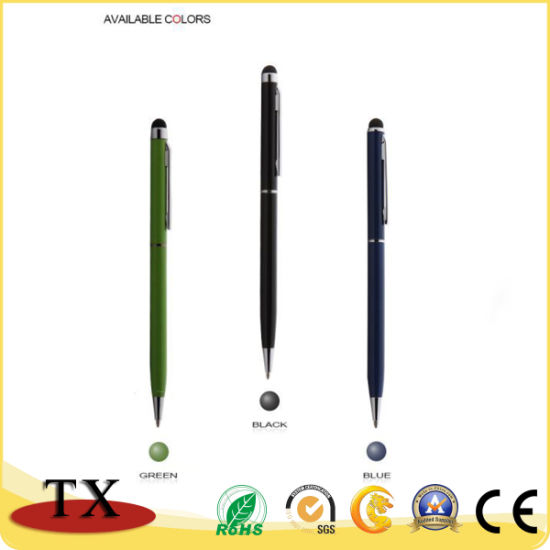 Promotional Gift Excellent Writing Feeling Touch Screen Ball Pen