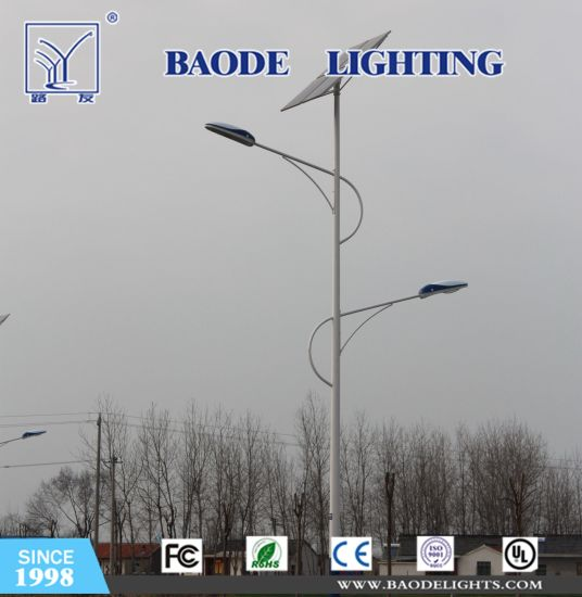 Baode Lights Wholesale Custom Design 30W Solar LED Street Light Competitive Price