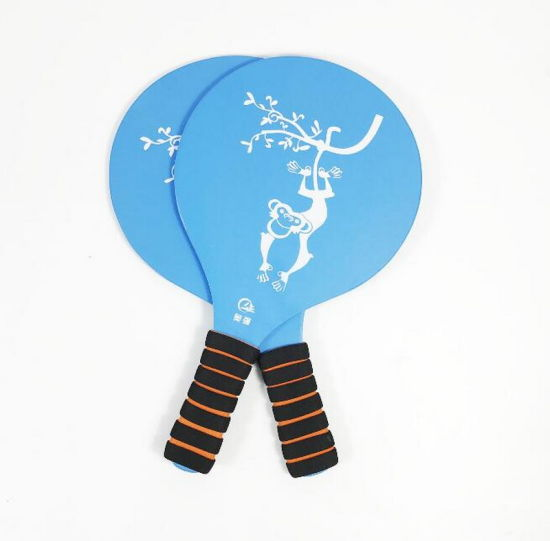 Professional Custom Printing Product Wood Racket Beach Tennis Racket pictures & photos
