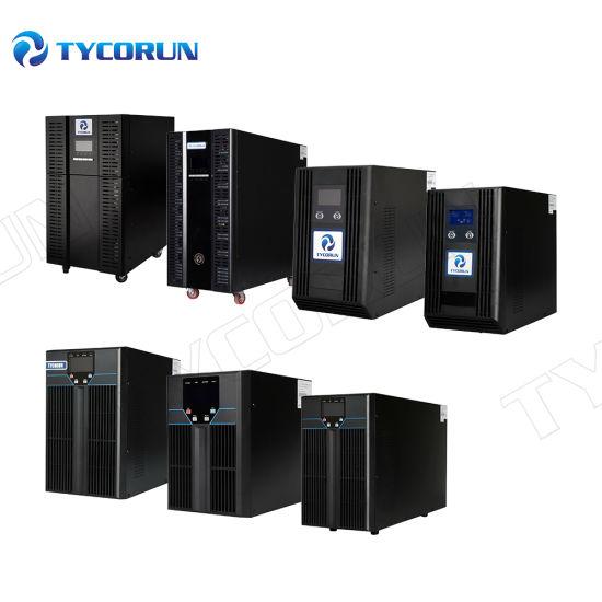 Tycorun Online UPS 3kVA 5kVA 6kVA 650va 1000va 10kVA 100kVA Uninterrupted Power Supply Online UPS for Data Centre Anc Computer