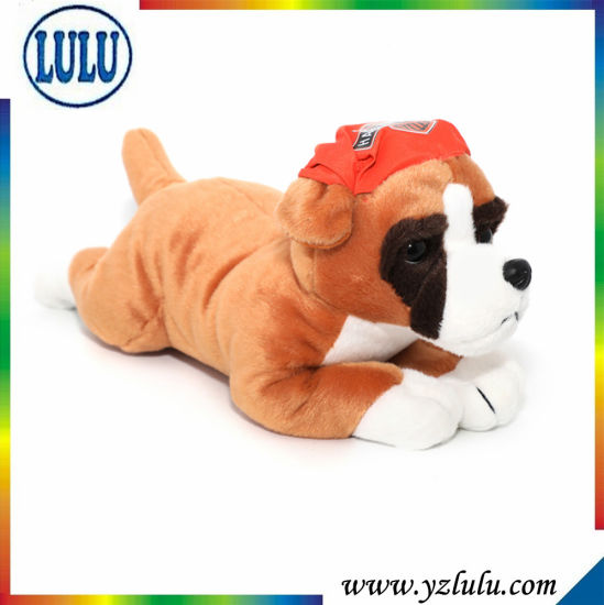 Brown Dog Stuffed Toy Little Baby Boy Favourite Plush Gift Toy