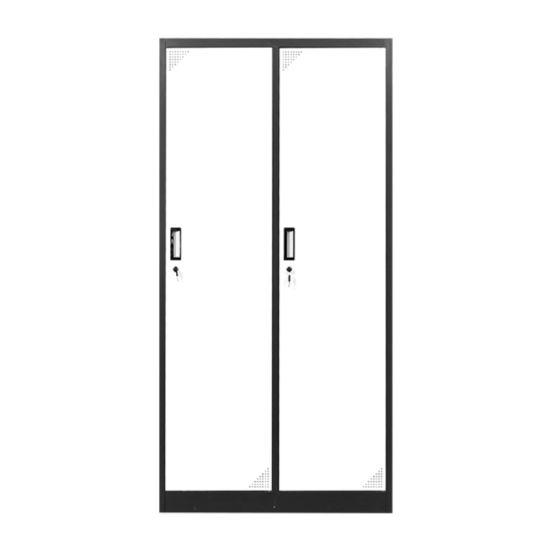 Metal Office Room Furniture Steel Lockers Home Depot 2 Doors Tall Locker