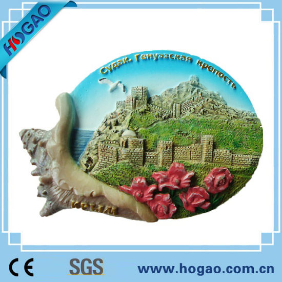 Polyresin Fridge Magnet, OEM Accetped, Souvenir Products pictures & photos