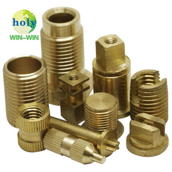 CNC Brass Fitting CNC Turning Steel Part Brass Bushing CNC Lathe Milling Service