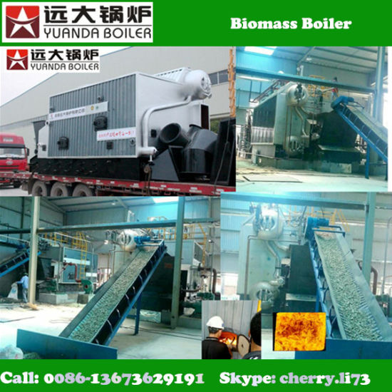 High Performance Chain Grate 4 Ton Steam Boiler for Textile Industry pictures & photos