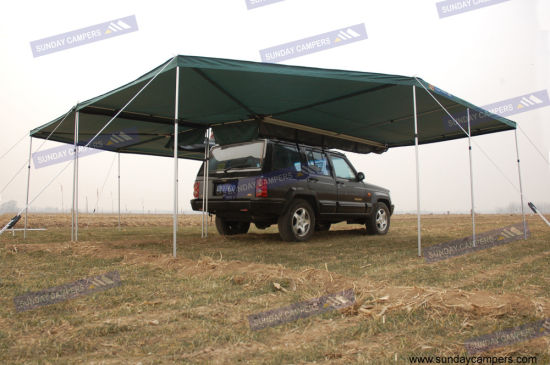 4WD Awning with 360 Degree Mire Wings