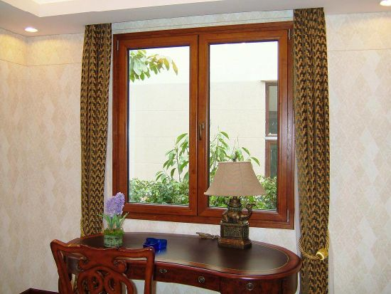 Non Finger Jointed Solid Wood Window