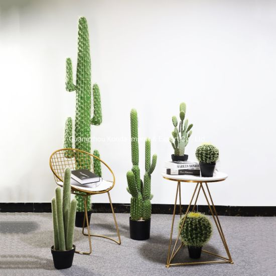Home and Garden Decoration Different Size Large Artificial Mexico Cactus