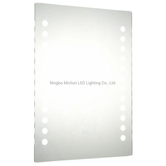 Custom Mirror Bathroom Wall Hang Lighted Mirror with GS CE RoHS