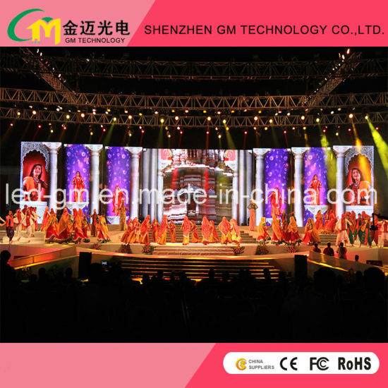 2019 Hot Sell GM3.91/4.81 Indoor Stage Rental LED Display for Events pictures & photos