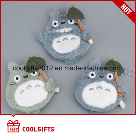 Customized Cute Animal Plush Toy Coin Purse, Plush Keychain Bag