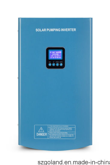2017 New 20HP Solar Inverter Charger Solar Pumping Inverter for Farm pictures & photos
