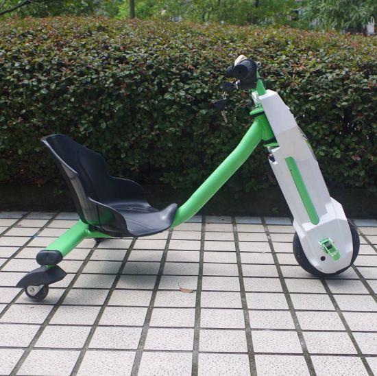 Olny New Ce 100W Drift Trike 3 Wheel Smart Bike Side Trike for Kids (JY-ES002)