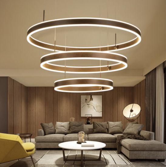 Modern Circular Ceiling Lamp LED Light for Living Room Decoration