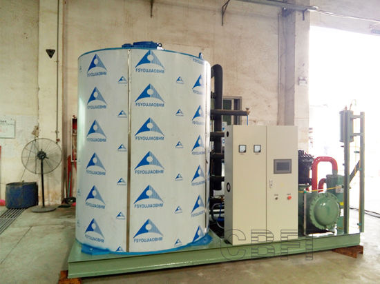 Industrial Flake Ice Machine Used in Fishery pictures & photos