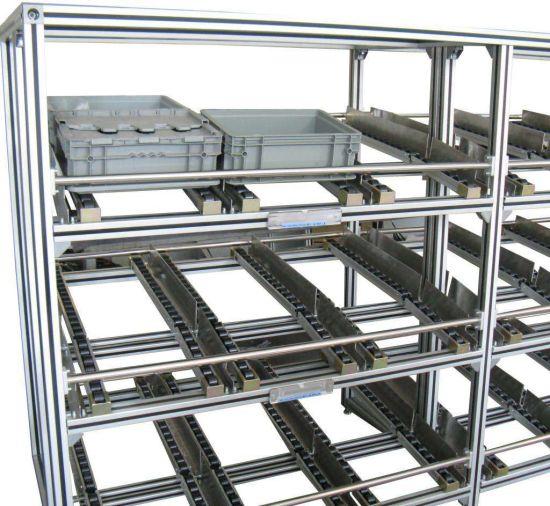 Aluminum Profile Deposit Shelf Se