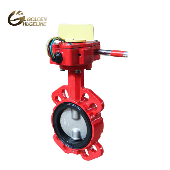 Factory Price Wholesale Stainless Steel Lining Manual Wafer Butterfly Valve