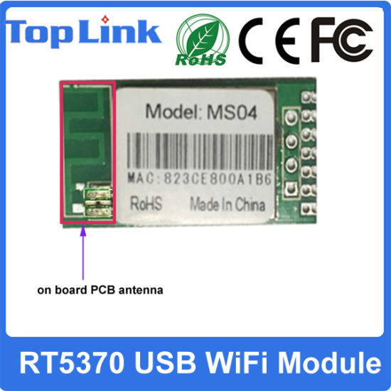 Top-Ms04 Rt5370 150m Wireless WiFi Module for IP Camera with Ce FCC pictures & photos