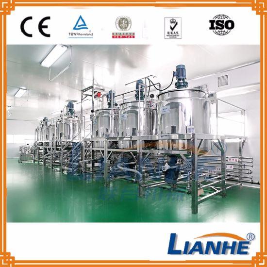 China Lotion Liquid Soap Shampoo Making Machine With