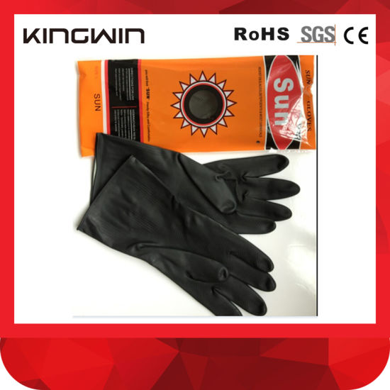 Latex /Rubber Gloves for Hand Safety Protection with Ce Certification