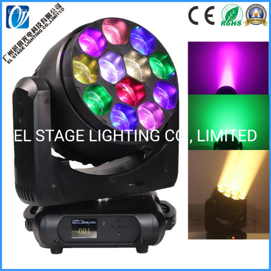 12*40W LED Pixel Moving Head Beam Wash Zooming Light