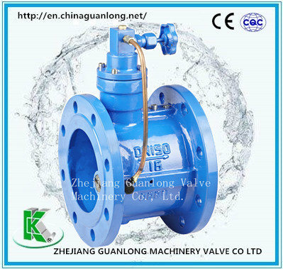 (HH46X/H) Buffer Slow Shut Butterfly Clapper Non Return Check Valve