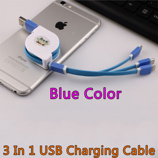 Custom Logo USB Data Cable with Multi-Functions pictures & photos