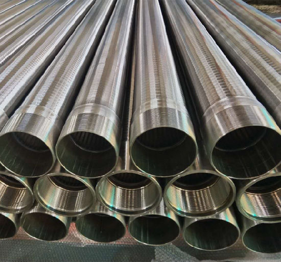 Stainless Steel Screen Pipe for Oil and Gas Field Water Well pictures & photos