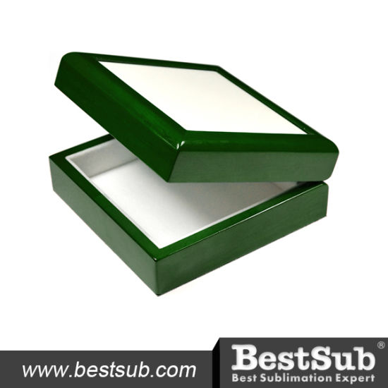 Sublimatable Ceramic Tiled Wooden Jewelry Box (SPH44G) pictures & photos