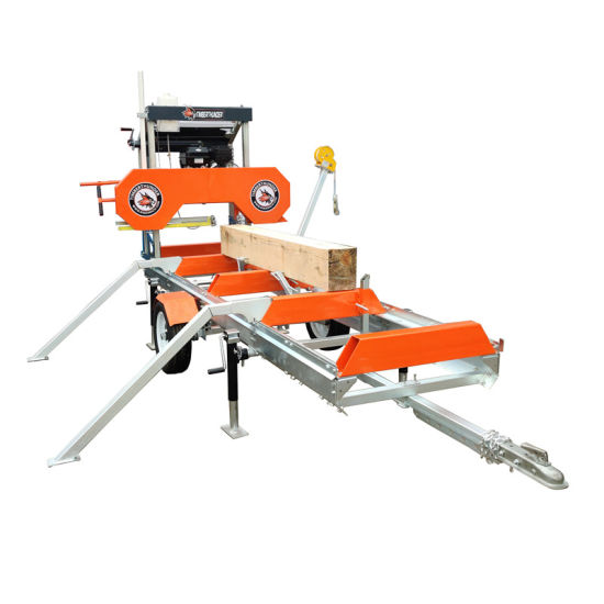 Portable Sawmill Band Saw for Gasoline Engine and Electric Motor