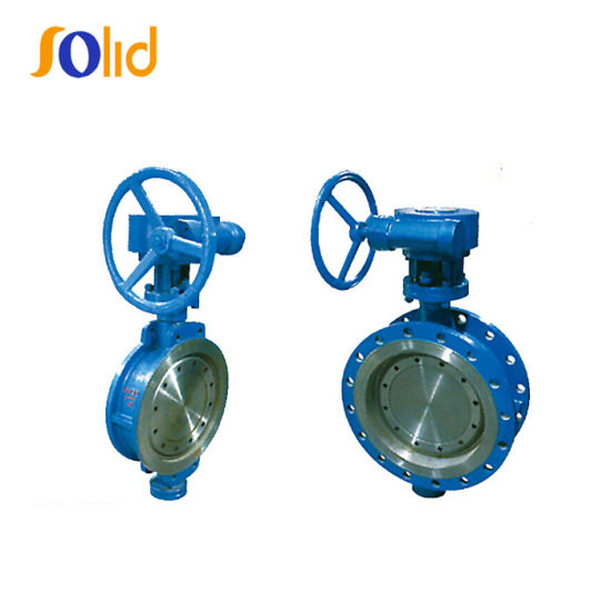 Resilient Ductile Cast Iron Wafer Type PTFE Butterfly Valve