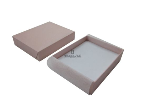 Custom 2PCS Packer Style Fancy Paper Jewelry Gift Storage Display Ring/Earring/Pendant Packaging Box
