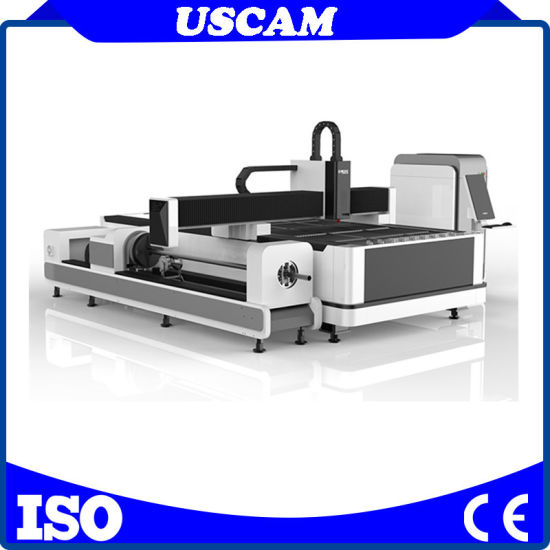 500W 1000W Cheap Automatic Loading System to Processing Metal Steel Sheet Plate Tube CNC Cutter Fiber Laser Cutting Machine Price