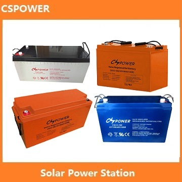 Cspower Deep Cycle Lead Acid Solar Battery (12V150ah) pictures & photos