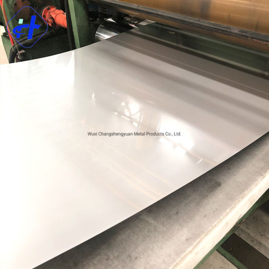 ASTM 201 Stainless Steel Sheet with 2b Ba No. 4 8K Hl Surface