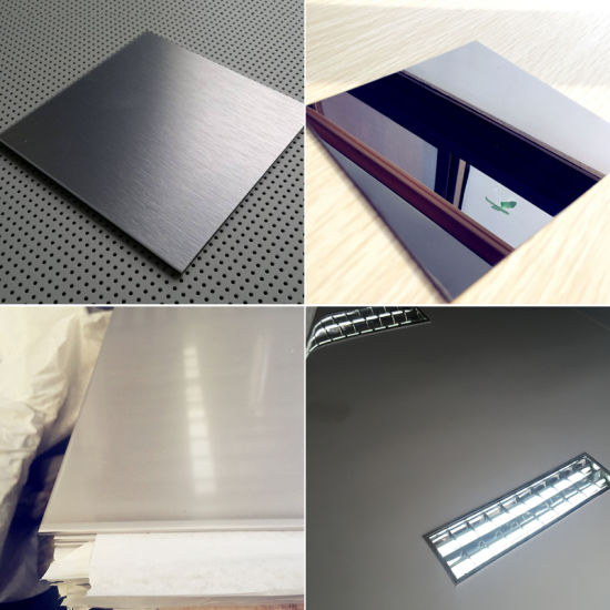 PVC Film Coated 430 Ba Finish Surface Stainless Steel Sheet pictures & photos