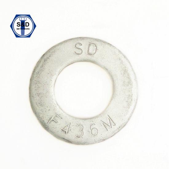 ASTM F436, F436m Hardened Flat Washers