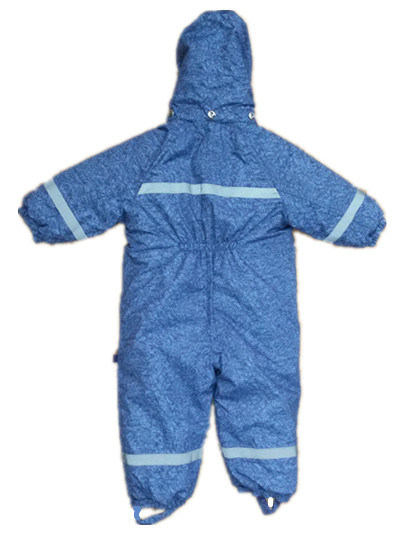 Light Blue Hooded Reflective Waterproof Jumpsuits for Baby/Children pictures & photos