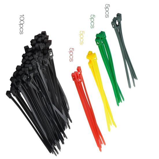 Cable Tie Made of Standard Nylon Various Sizes and Colors Are Available