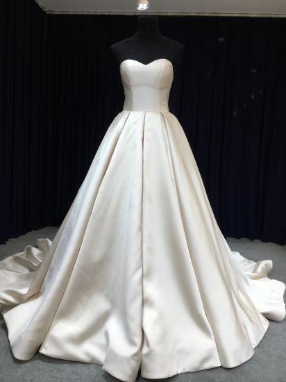 China Aoliweiya Best Selling Design Ball Gown Wedding Gown - China ...