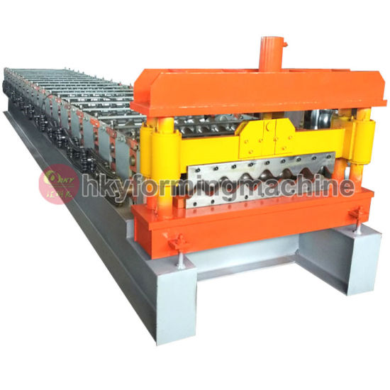 Portable Metal Roofing Sheet Roll Forming Machine