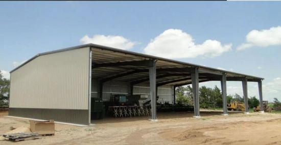Steel Structure Shed, Tractor Shed